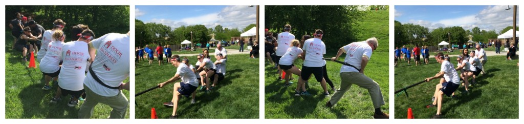 Lee's Summit Chamber Challenge digital marketing inc door systems inc tug of war